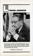 Lyndon Johnson VHS