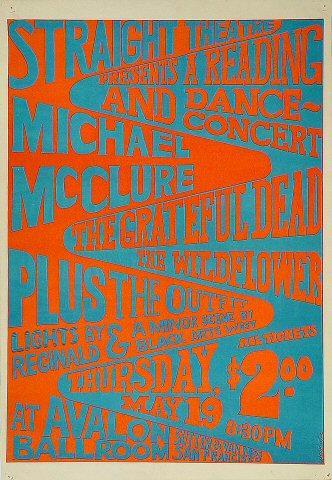 Michael McClure Poster