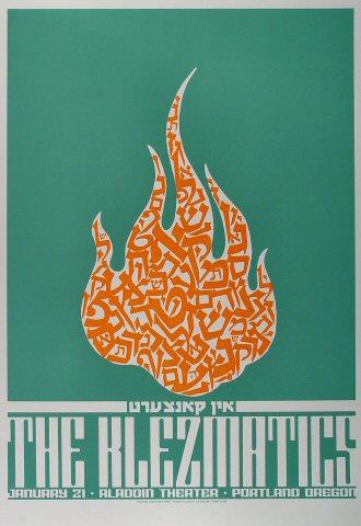 The Klezmatics Poster