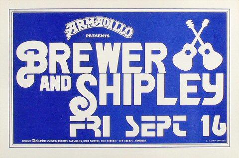 Brewer and Shipley Poster