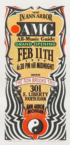 The Ron Brooks Trio Handbill