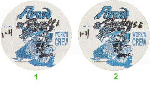 Poison Backstage Pass
