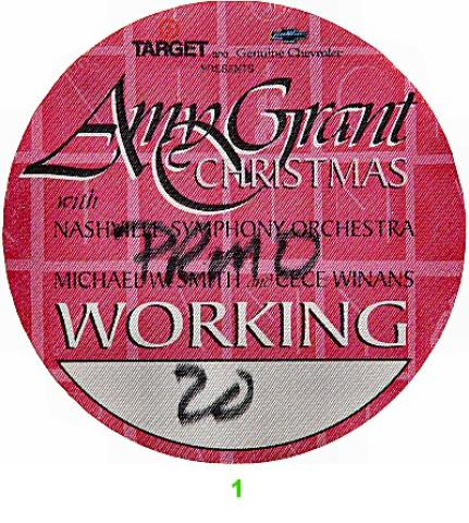 Amy Grant Backstage Pass