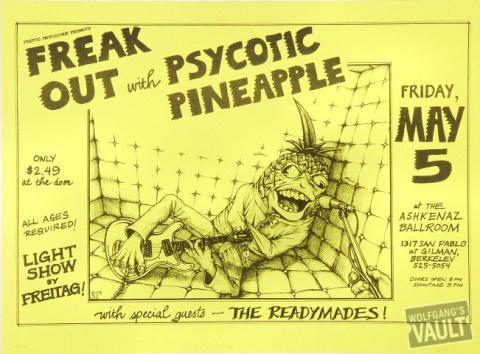 Psycotic Pineapple Handbill