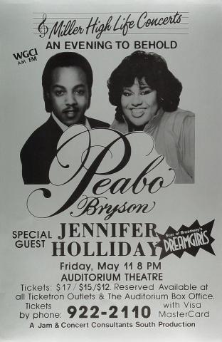 Peabo Bryson Poster