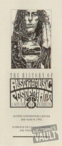 The History of Austin Music Poster Art Program
