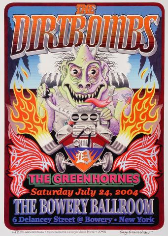 The Dirtbombs Poster