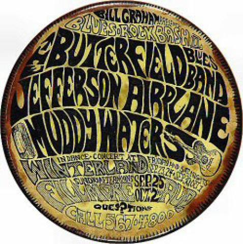 Jefferson Airplane Pin