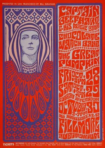 Captain Beefheart & The Magic Band Postcard