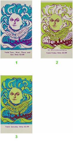 Muddy Waters Vintage Ticket