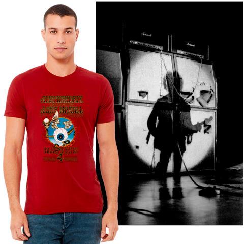 Flying Eyeball T-Shirt/Poster Set