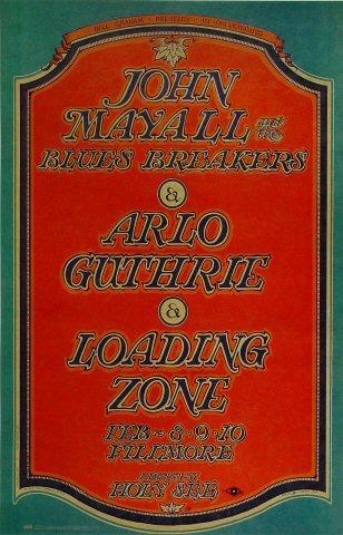 John Mayall & the Bluesbreakers Poster
