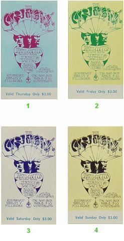Cream Vintage Ticket