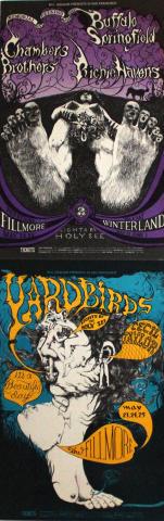 Yardbirds Postcard
