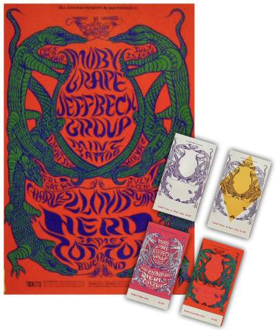 Moby Grape Poster Set