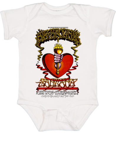 Big Brother and the Holding Company Vintage Tour Infant Onesie