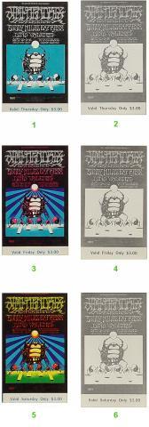 Jimi Hendrix Experience Vintage Ticket