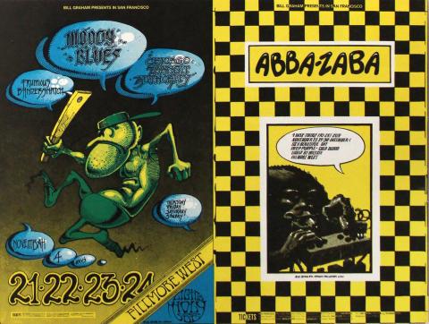 The Moody Blues Postcard