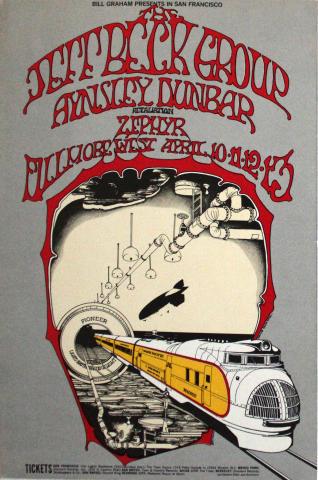 Jeff Beck Group Handbill