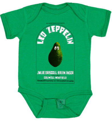 Led Zeppelin Vintage Tour Infant Onesie
