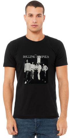 The Rolling Stones Men's Vintage Tour T-Shirt