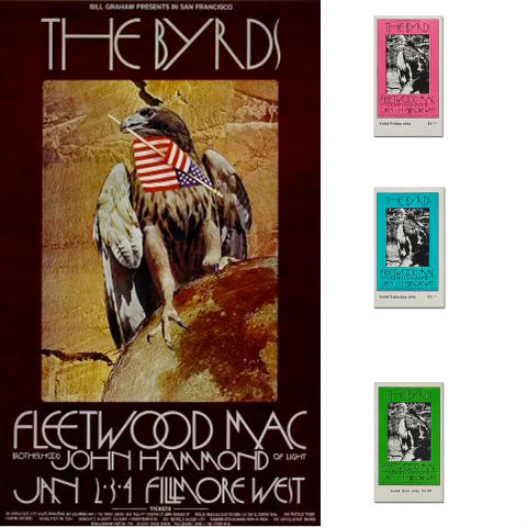 The Byrds Poster Set