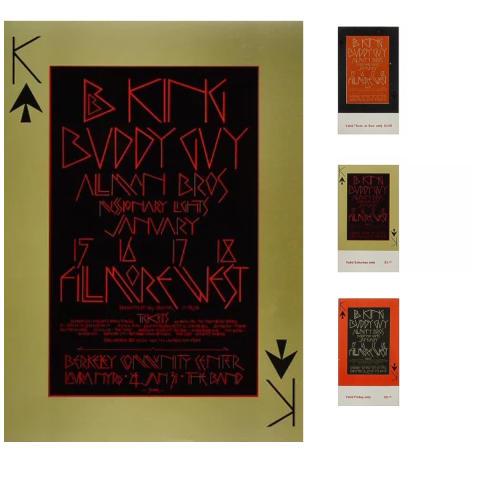B.B. King Poster/Ticket Bundle
