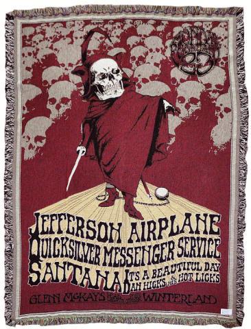 Jefferson Airplane Blanket