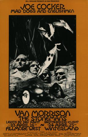Joe Cocker and Mad Dogs and Englishmen Poster