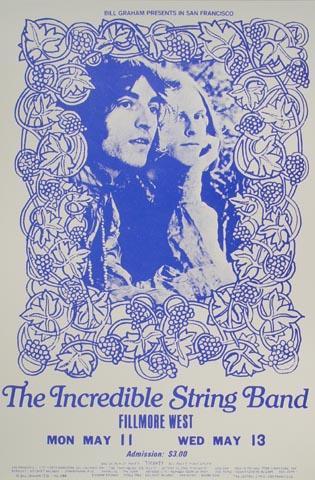 The Incredible String Band Handbill