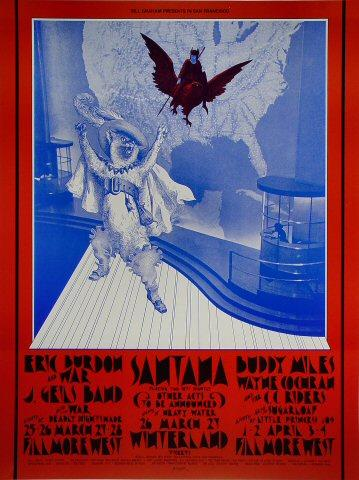 Eric Burdon & War Poster