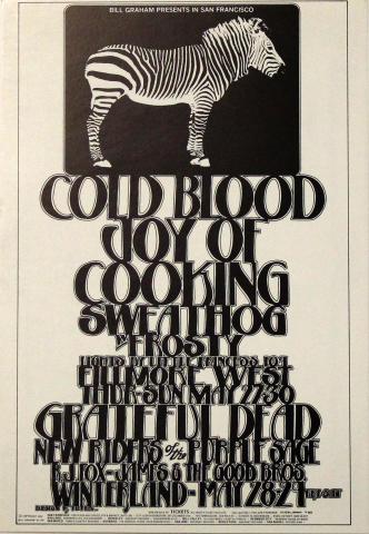 Cold Blood Handbill