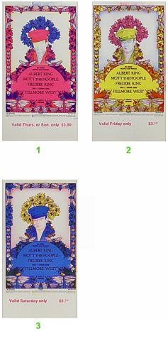 Albert King Vintage Ticket