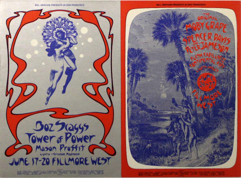 Boz Scaggs Postcard
