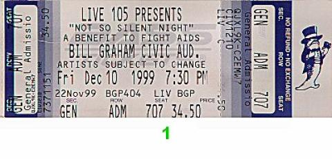 Bush Vintage Ticket