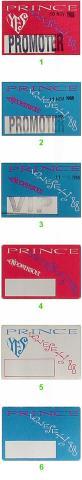 Prince Backstage Pass