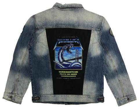 Metallica Men's Denim Jacket