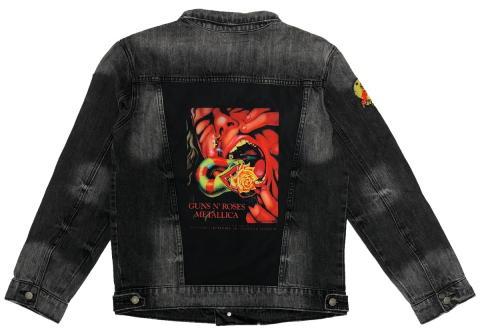 Guns N' Roses Men's Denim Jacket