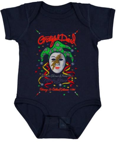 Grateful Dead Vintage Tour Infant Onesie