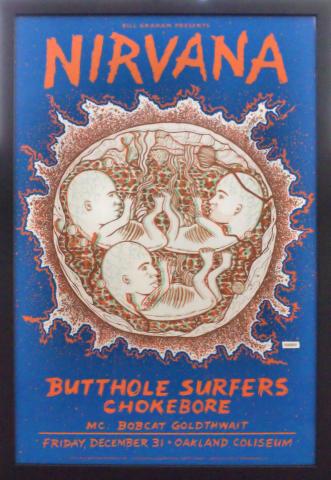Nirvana Framed Poster