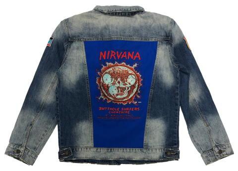 Nirvana Men's Denim Jacket