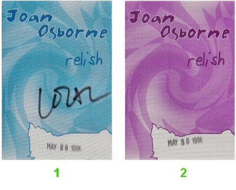 Joan Osborne Backstage Pass