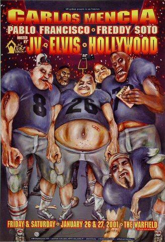 Carlos Mencia Poster