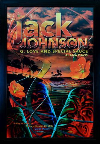 Jack Johnson Framed Poster