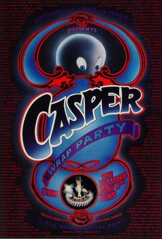 Casper Wrap Party Poster
