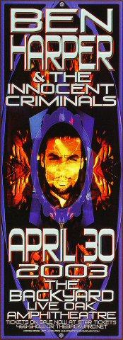 Ben Harper & The Innocent Criminals Poster