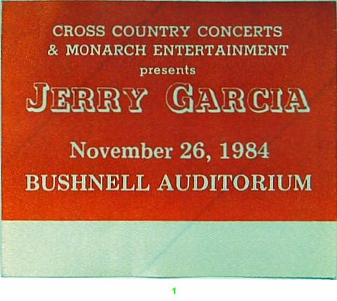 Jerry Garcia Backstage Pass
