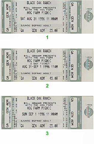 Ani DiFranco Vintage Ticket