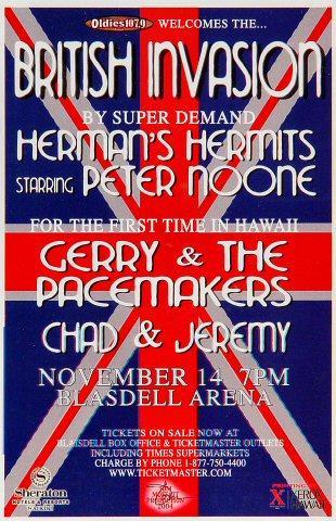 Herman's Hermits Handbill