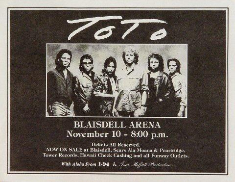 Toto Handbill